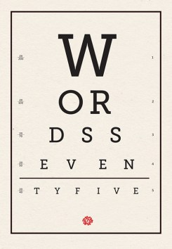 cover of words 75