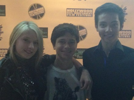 The Kid premier with Kalama Epstein and CJ Diehl