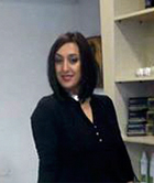Luisa Doko, κομμώτρια, απόφοιτη της σχολής κομμωτικής Gianneri Academy στην Θεσσαλονίκη