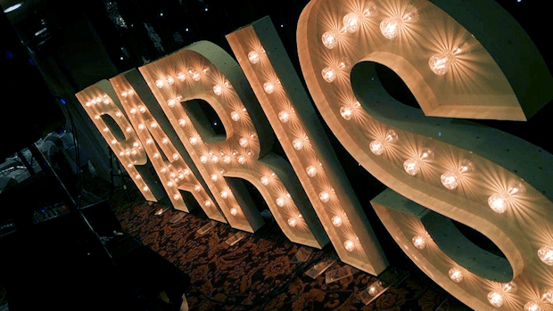 Affordable Giant Light Up LOVE Letter & Numbers Hire Hire