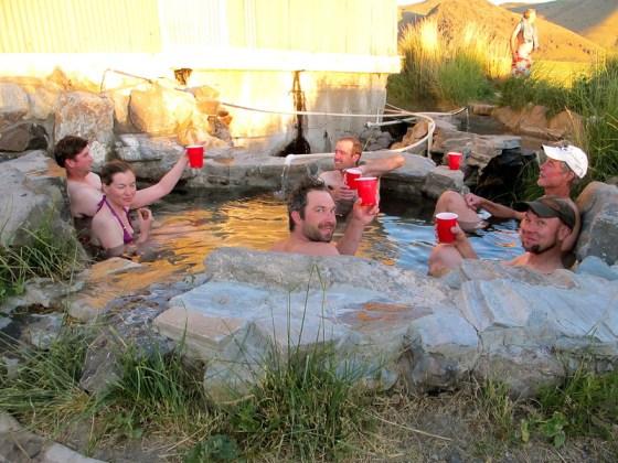 Giant Loop Summer Lake Hot Springs Ride