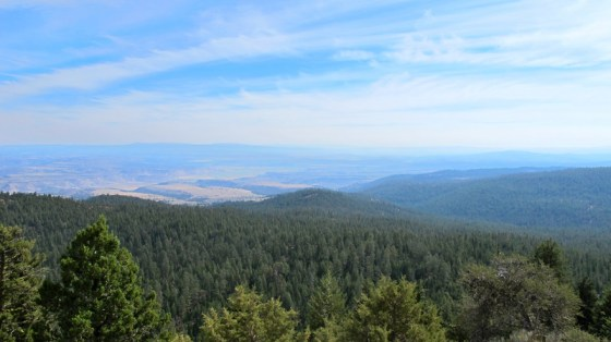 View looking northeast. Crooked River drainage.