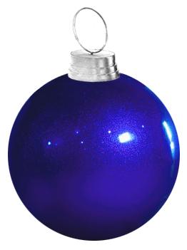"42"" Large Fiberglass Christmas Ornament"