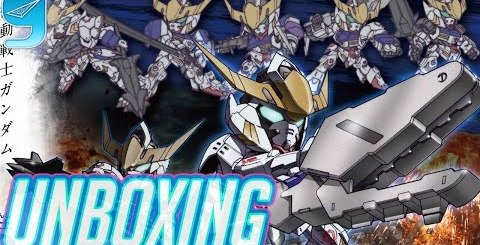 401 Gundam Barbatos DX Unboxing