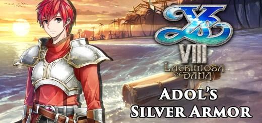Ys VIII Adol Silver Armor 3