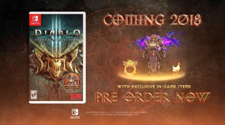 Diablo III For Nintendo Switch