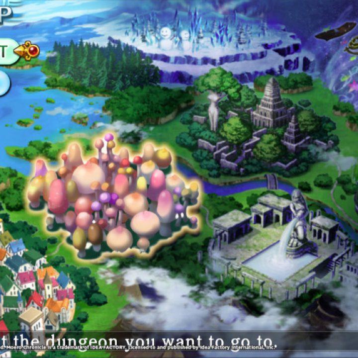 Moero Chronicle Hyper - System Screenshot 5