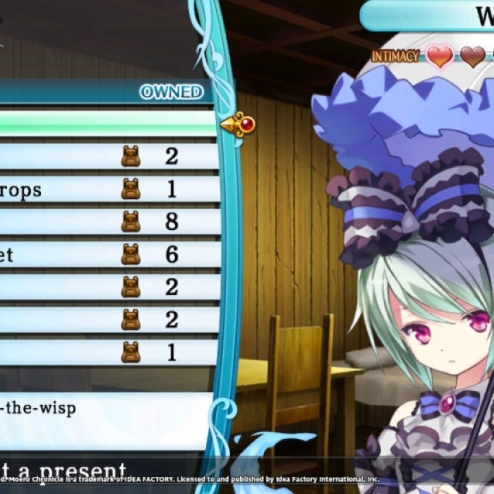 Moero Chronicle Hyper - System Screenshot 4