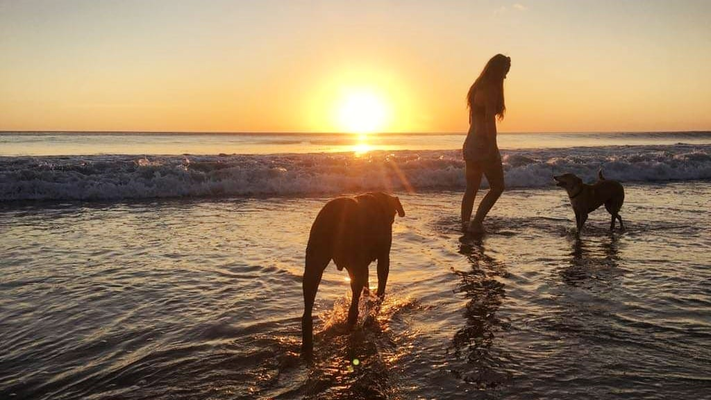 Epic sunsets on Nicaragua beaches