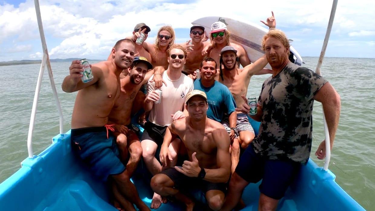 surf boat tour nicaragua