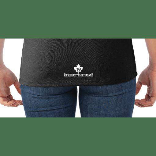 WOMEN'S T-SHIRT | GTTC DRI-POWER ACTIVE | - Jerzee - T Shirt - Black - Back - Close