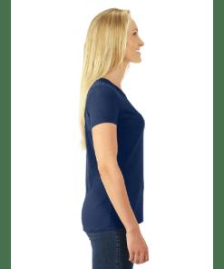 WOMEN'S T-SHIRT   GTTC DRI-POWER ACTIVE - T Shirt - Navy - Side