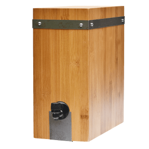 Boxed Wine Cover Bamboo | Giants Tomb Trading Co