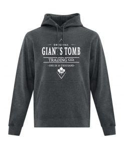 Hoodie | Unisex | Active Blend | Dark Heather | Logo: Original G.T.T.C.