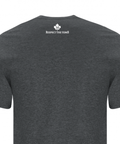 Men's T-Shirt | GTTC Active Blend | D_H_Gray Back Close