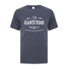 Men's T-Shirt | Active Blend | Heather Navy | Logo: The GTTC - Front