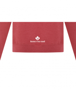 Hoodie | Unisex | Active Blend | Heather Red | Logo: Georgian Bay Destinations Back 2