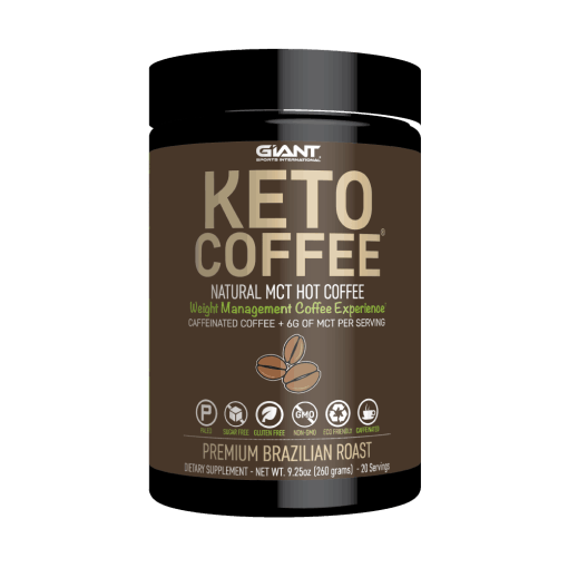 Keto Friendly Instant Coffee Mix with MCTs