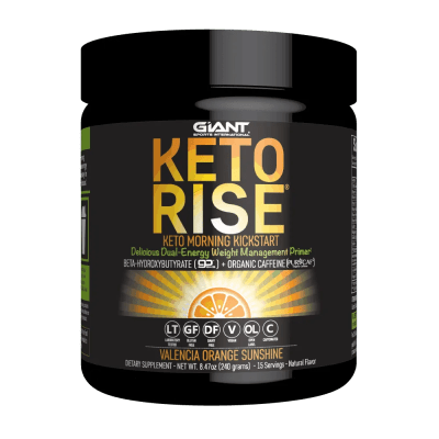 Exogenous ketones with organic caffeine