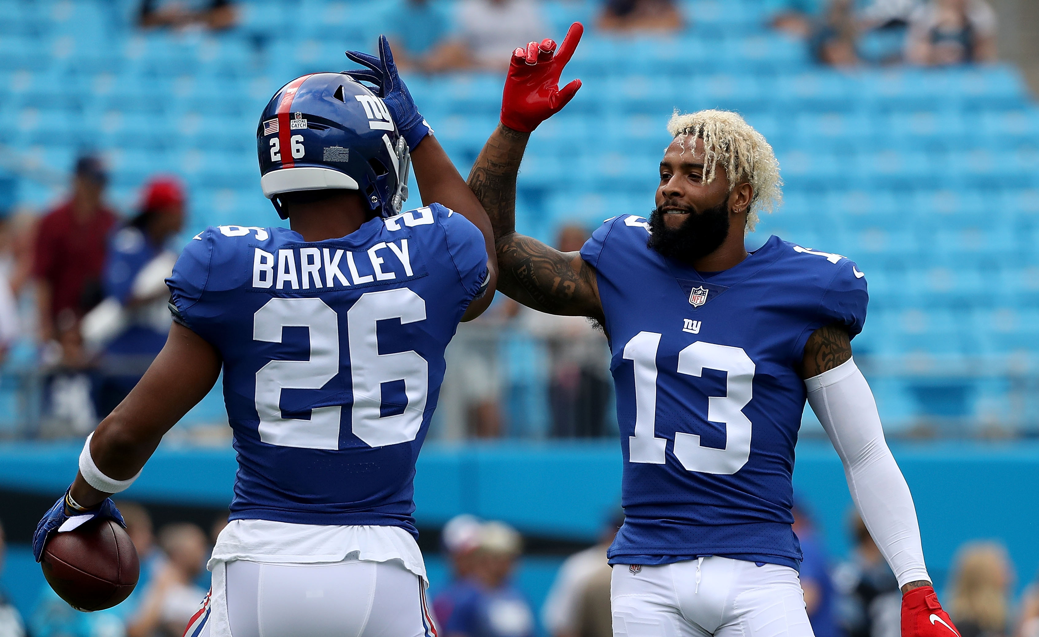 Saquon Barkley, Odell Beckham Jr. plan to rehab together this offseason