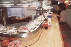 Kaiten-sushi (ristorante sushi sul nastro trasportatore)