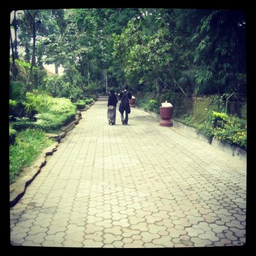 The path in Gembira Loka