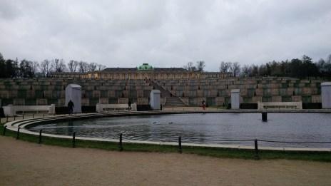 Finally Sanssouci Palace, Potsdam