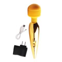 Máy massage điểm g sạc mạ vàng