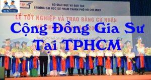 cộng đồng gia sư tại tphcm