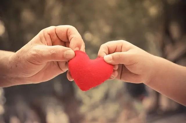 Tình yêu thương mang đến điều tốt đẹp trong giá trị cuộc sống
