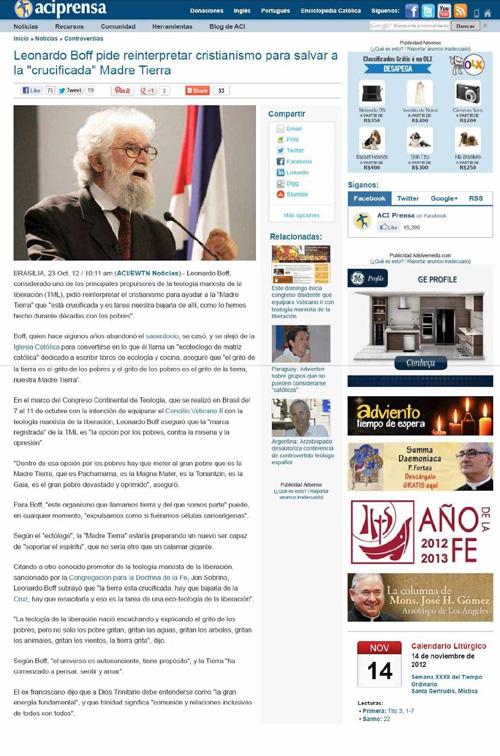 """IPCO - Instituto Plinio Corrêa de Oliveira - Nova """"Religião"""" Ambientalista 10"""