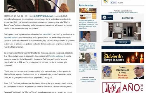 """IPCO – Instituto Plinio Corrêa de Oliveira – Nova """"Religião"""" Ambientalista"""