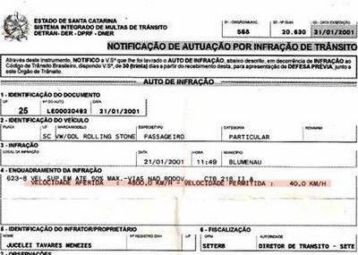 Homem é multado por dirigir a 4.800 km/h 38