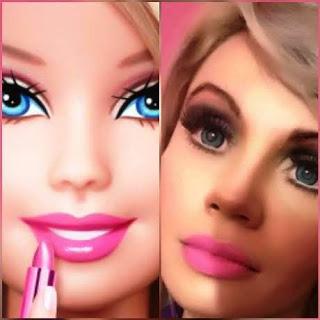 """Jullie Star,  """"Barbie Humana""""   Fazendo a Alegria das Crianças do Brasil"""