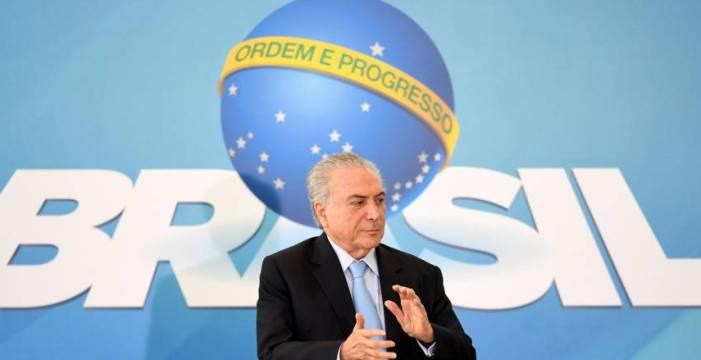 O Brasil e o Presidente Temer
