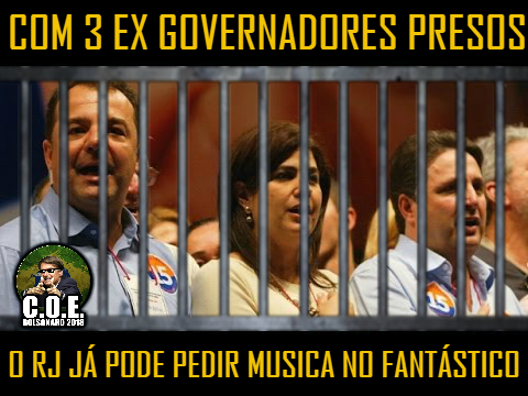 Rio de Janeiro Está Mergulhado em Corrupção Vitaminada 7