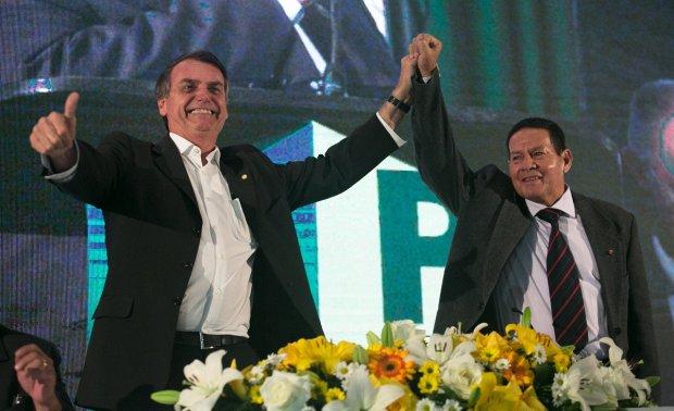Bolsonaro e Mourão, a candidatura ideal para um basta à criminalidade e à corrupção