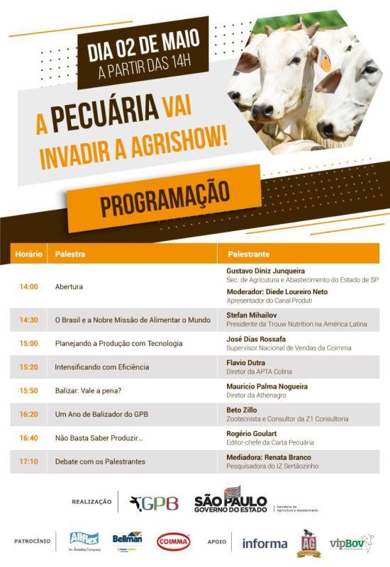 Agrishow 2019 abre espaço para debater a comercialização na pecuária brasileira 4