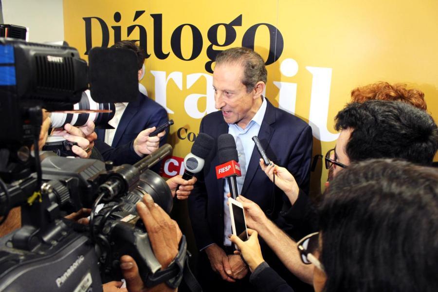 Diálogo pelo Brasil - Na manhã desta quarta feira, 04 de setembro, o presidente da FIESP/CIESP Paulo Skaf participou de encontro na sede da Regional Campinas do