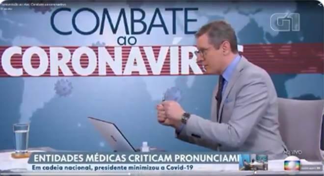 O mínimo que se espera dos menos atentos, que estão tendo dificuldade de entender que a Globo canalha está usando a pandemia do Coronavírus para derrubar o Governo