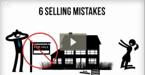 6 Mistakes When Selling a Home