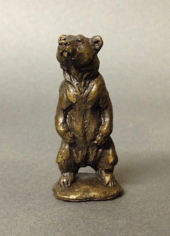 bronze wildlife sculptures