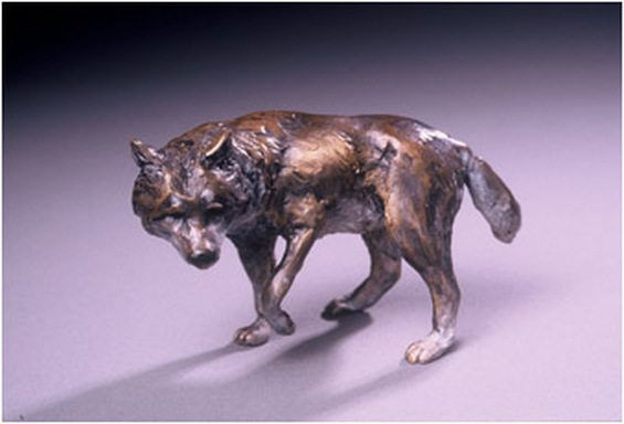 bronze wildlife sculptures for sale