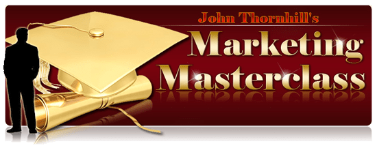 Remember this is PERSONAL TRAINING where John Thornhill will show you EXACTLY what you need to build a succesful online business!