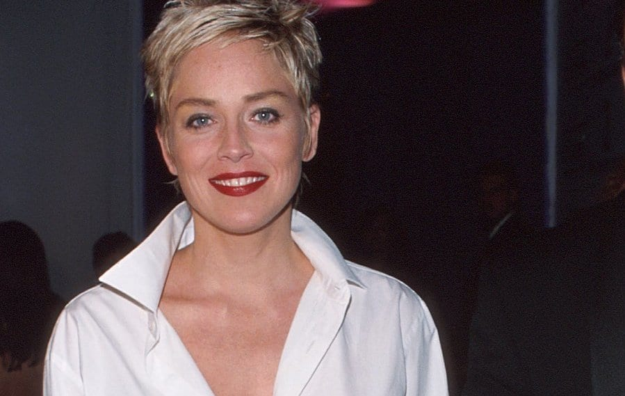 Great Outfits in Fashion History: Sharon Stone Bringing High-Low Dressing to the Red Carpet