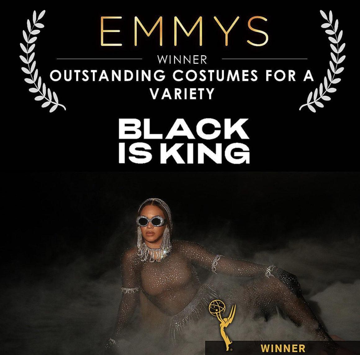 Beyoncé's 'Black Is King' Wins 2021 Emmy Award for 'Outstanding Costume for a Variety': Zerina Akers Becomes Second Black Woman in History to Win the Award