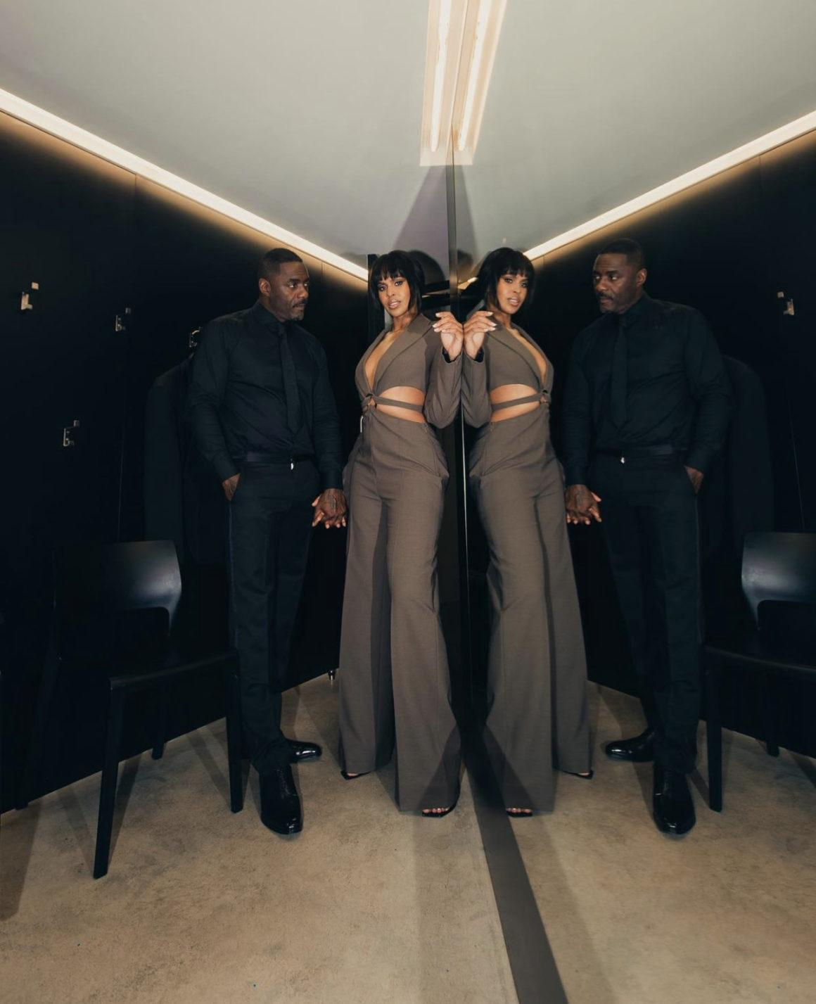 Sabrina and Idris Elba Deliver Power Couple Style Moment in Custom Boss Looks for GQ Awards