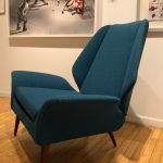 New Luigi Tiengo Mid Century Lounge Chairs Michael Gibson Gallery