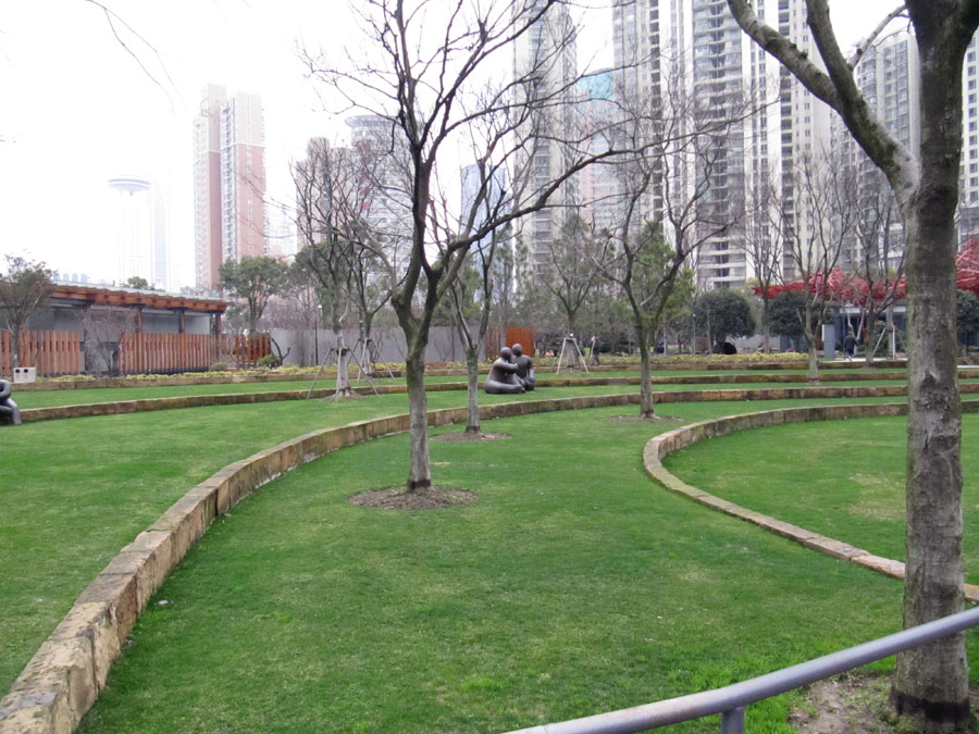 Jing'an Sculpture Park, Shanghai