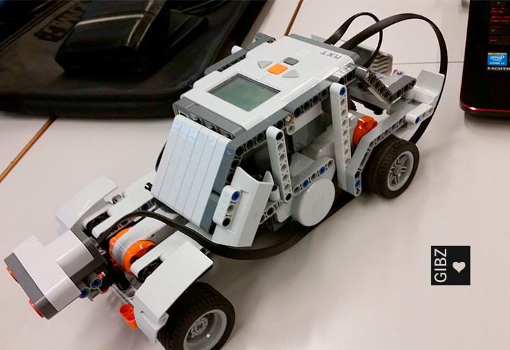 NXTs – Projektarbeit im CST-Unterricht der Informatiker 4C